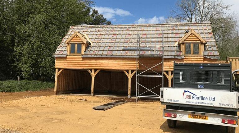 Wooden Garage – Pretiling