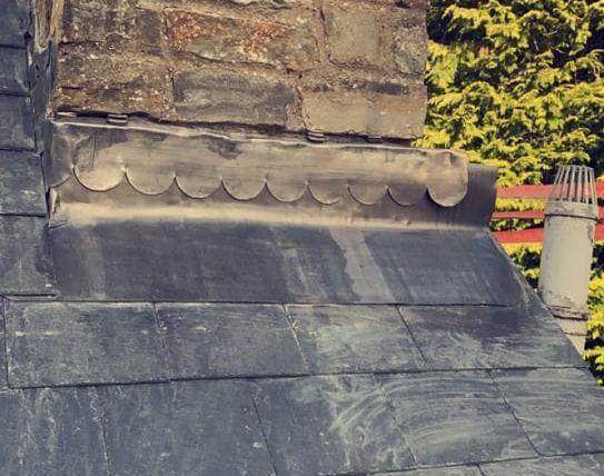Chimney Lead Work/Lead Flashing