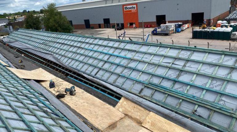 Industrial Roofing Prep