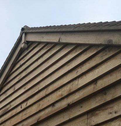 Wooden Roof Trim