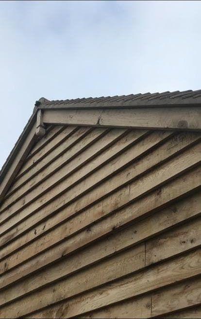 Wooden Roof Edging