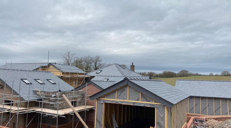 Slate Single Garage Roofing